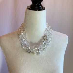 Silpada Sterling Silver, Quartz, Pearls Ne…